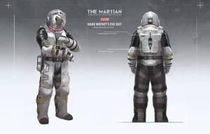 The Martian - EVA suit design by artofjokinen