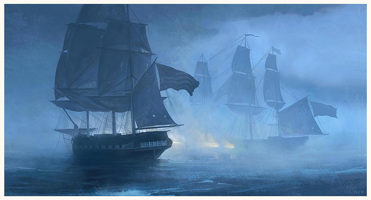 Smoke N'Oakum by artofjokinen