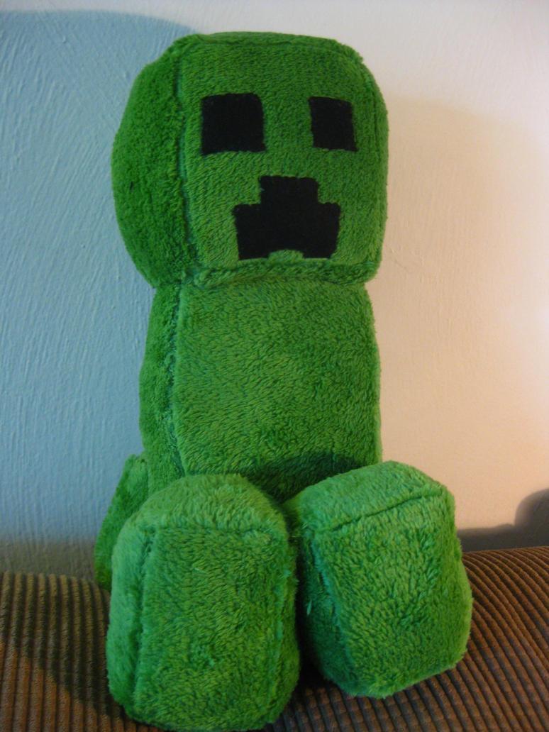 Minecraft Creeper plush by WyndRose