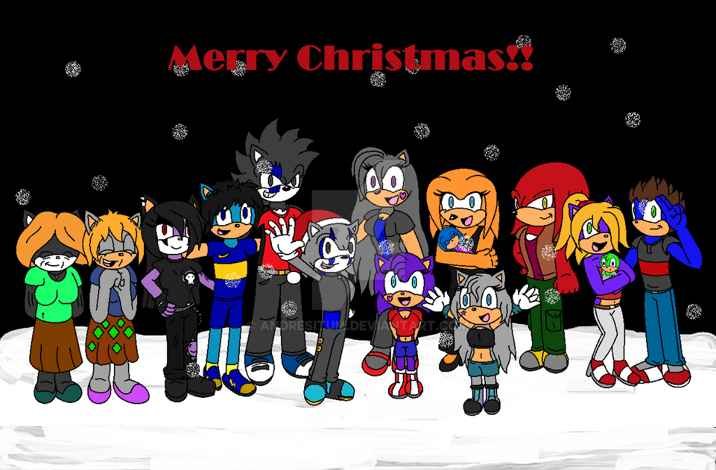 Xmas 2014 - Slain and the whole Family!! by Andresitum