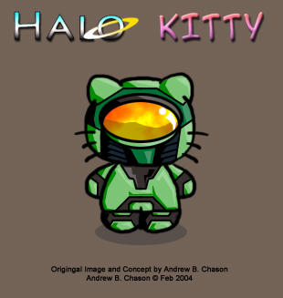 HALO KITTY by incomitatum