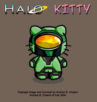 halo kitty