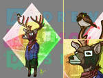 Mumford the deer don't wear shoes