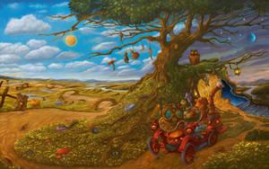The Magical Car by sabin-boykinov