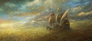 ' The Great Grass Sea ' by sabin-boykinov