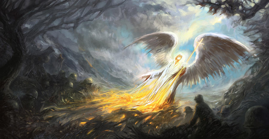 heaven vs hell art - photo #2