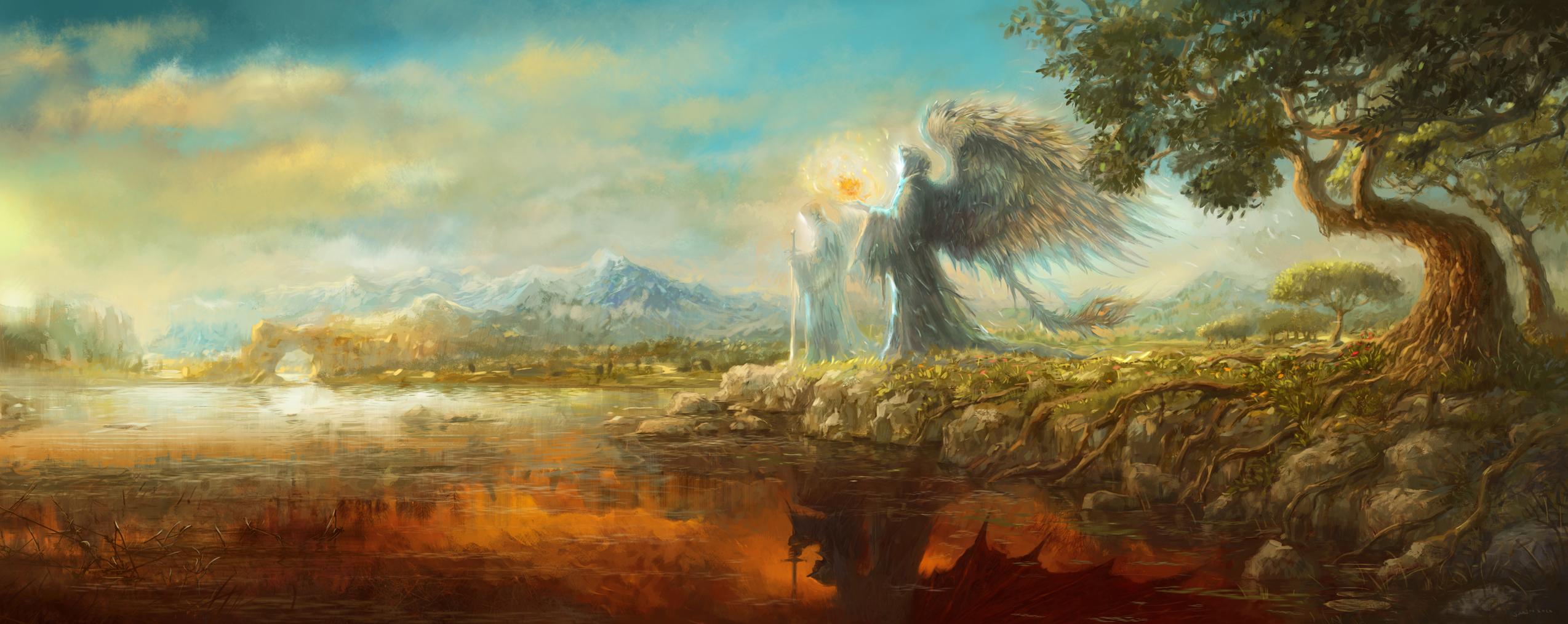 Between Heaven and Hell by sabin-boykinov on DeviantArt