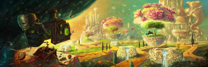 Concert in Heaven by sabin-boykinov