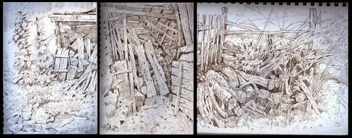 vacation sketches 2 by sabin-boykinov