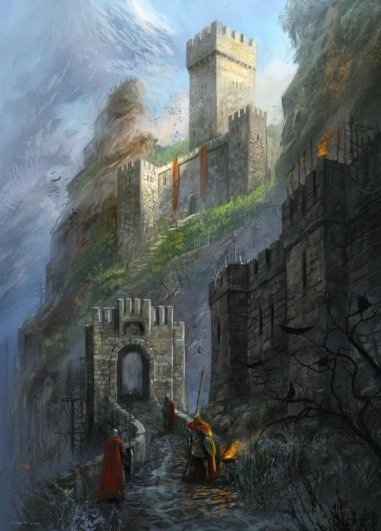 Bulgarian fortress by sabin-boykinov