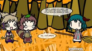 Walfas: Kyouko, Miko and Mamizou