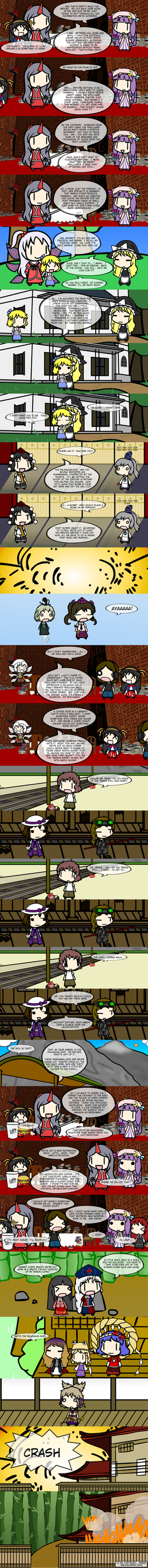 Alice Must Die: Episode 11:  Palanquin by WBLForever