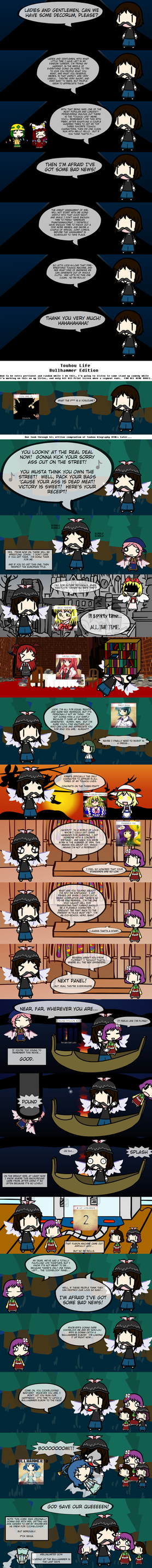 Touhou Life: Bullhammer Edition! by WBLRevival