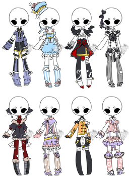 .:Adopted:. Outfit Batch 04