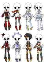 .:Adopted:. Outfit Batch 06 by DevilAdopts