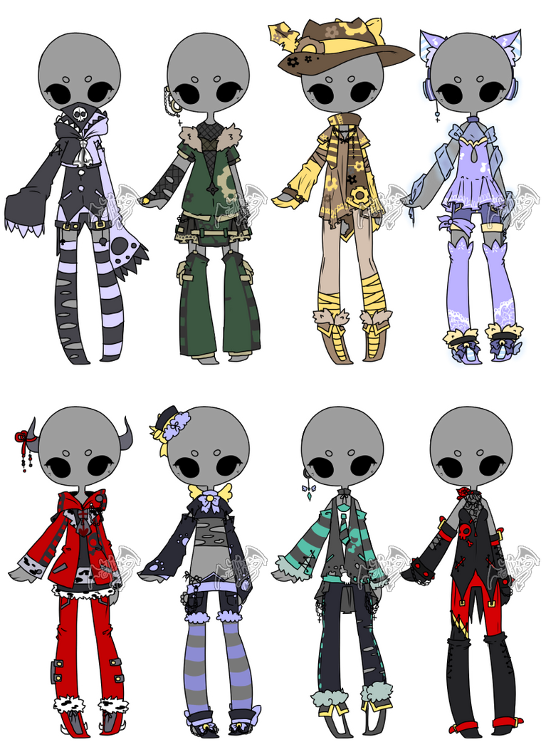 .:Adopted:. Outfit Batch 07 by DevilAdopts on DeviantArt