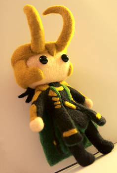 Mini!Loki (Badass Edition)