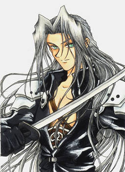 Sephiroth from FFVII