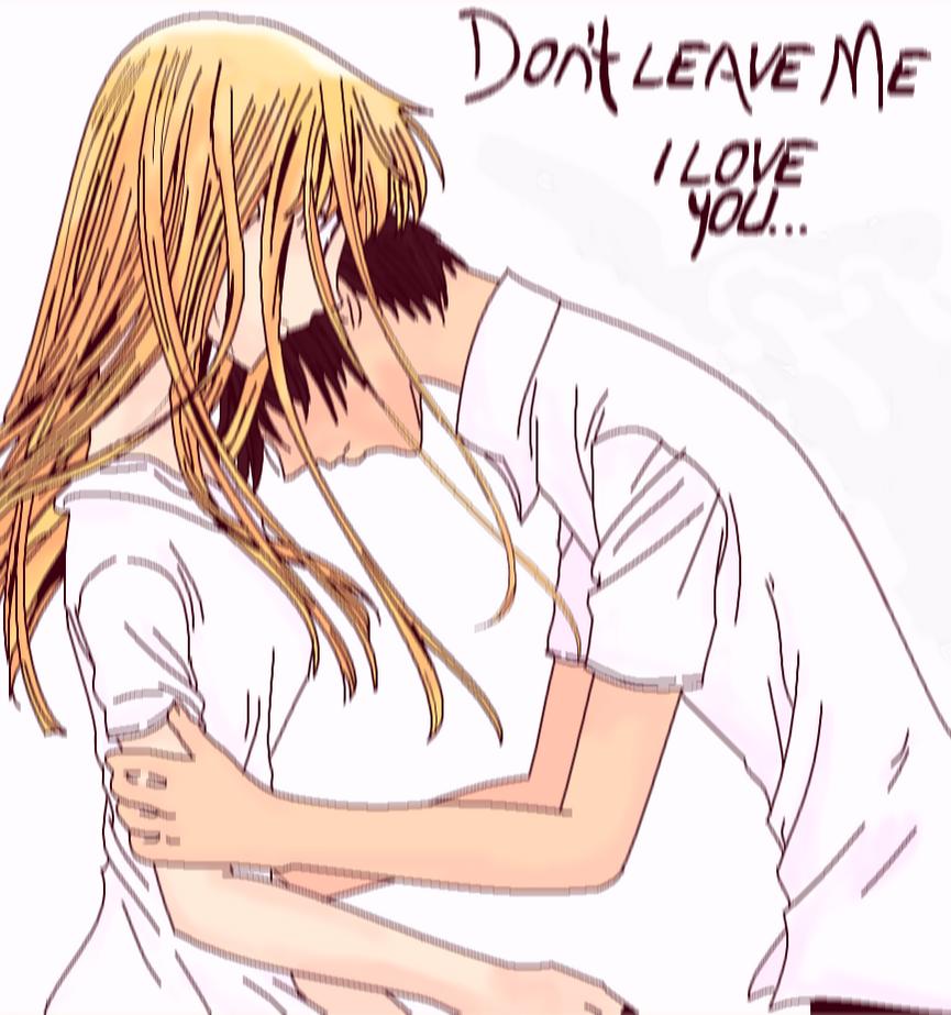 don 39 t leave me i love you by roxie chan144 on deviantart. Black Bedroom Furniture Sets. Home Design Ideas