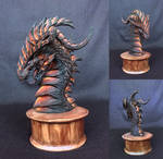 Dragon bust by Aestra