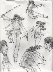 pirate girls by hotfuzzrules
