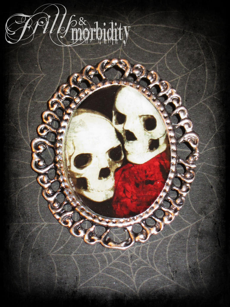 Love Eternal Brooch by FrillsandMorbidity