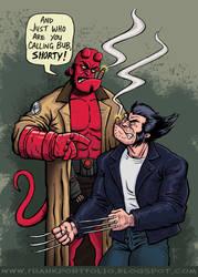 Hellboy meets Wolverine