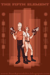 the Fifth Element- Monochrome