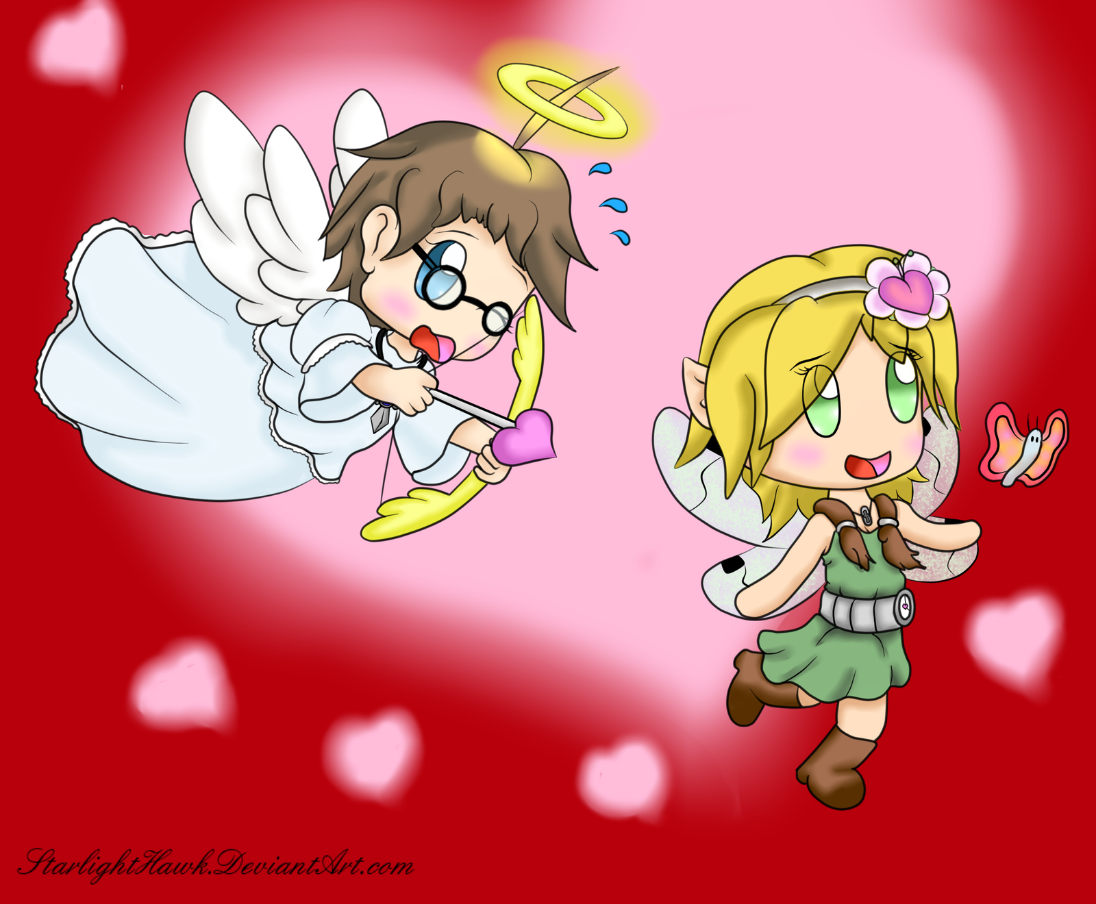 Conflicted Cupid - Happy Valentines 2015! by StarlightHawk