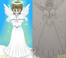 Dove - Wedding Dress - Ancient Art Improvement