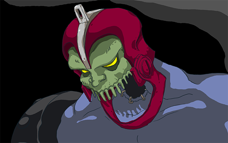 Trap-jaw o Mandibula do He-Man by campos
