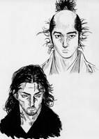 Ryohei et Musashi by Mach-Art