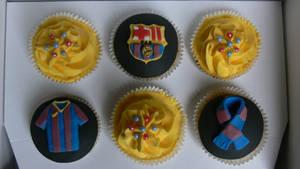 FCB cupcakes