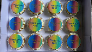 Thank you NHS cupcakes