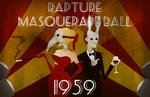 Rapture Masquerade Ball Poster