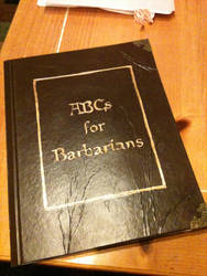 ABC's for Barbarians by LaggyCreations
