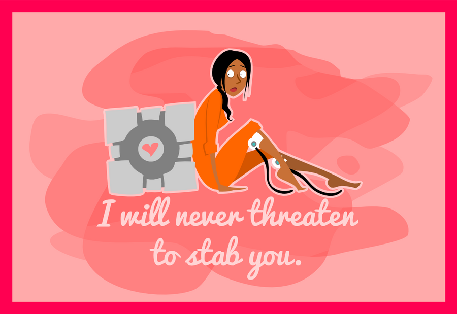 My Portal Valentine by LaggyCreations