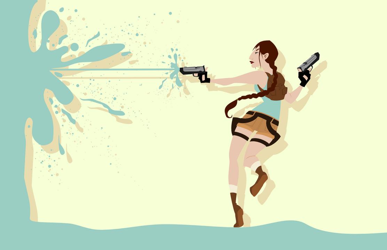 Lara—Tomb Raider by LaggyCreations