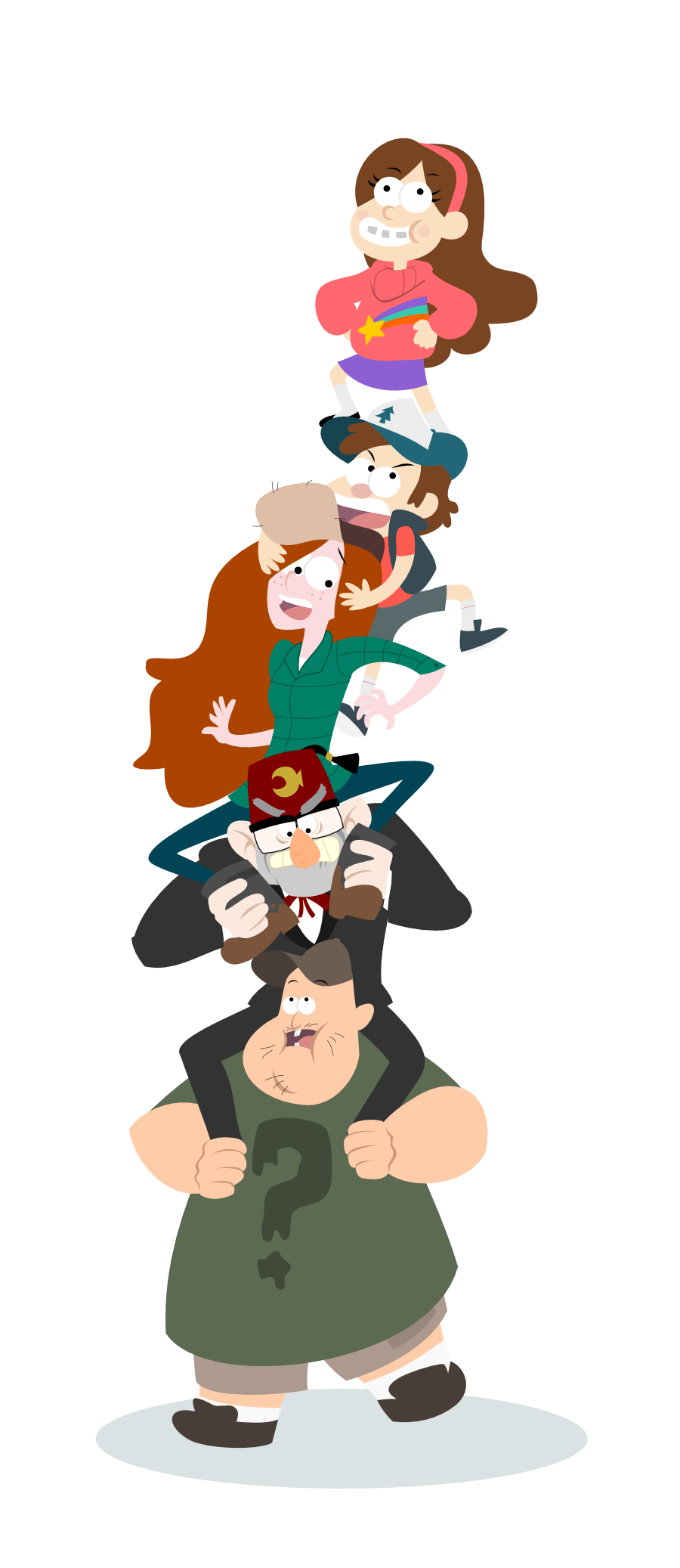 Gravity Falls Over by LaggyCreations
