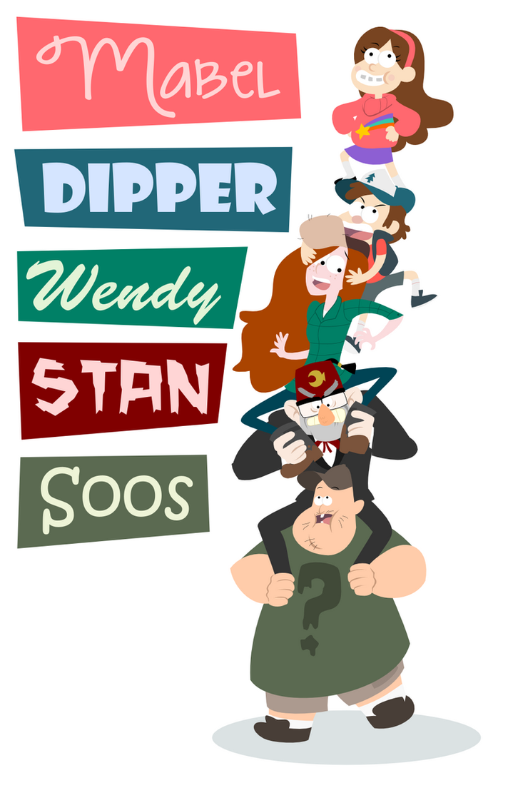 Gravity Falls Poster by LaggyCreations