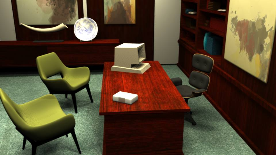 Mallory Office Render 2 by LaggyCreations