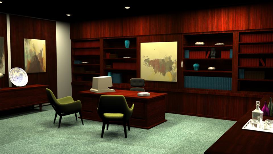 Mallory Office Render 3 by LaggyCreations