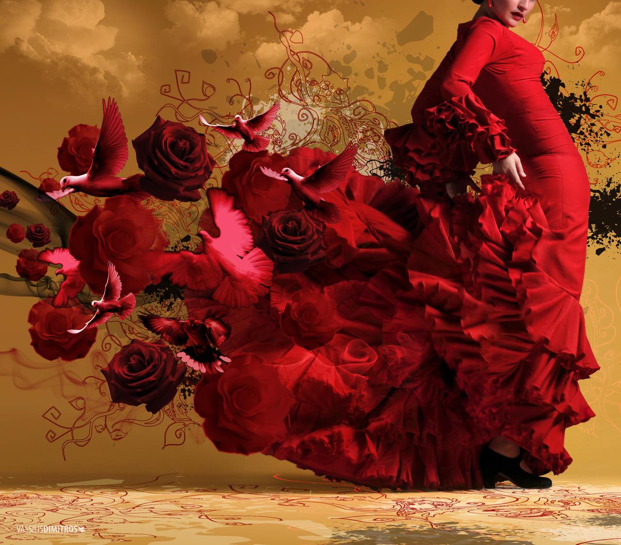 flamenco by dimitrosw on deviantart