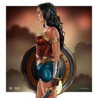 Wonder Woman by dimitrosw