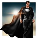 Superman: Justice League (Black Suit)