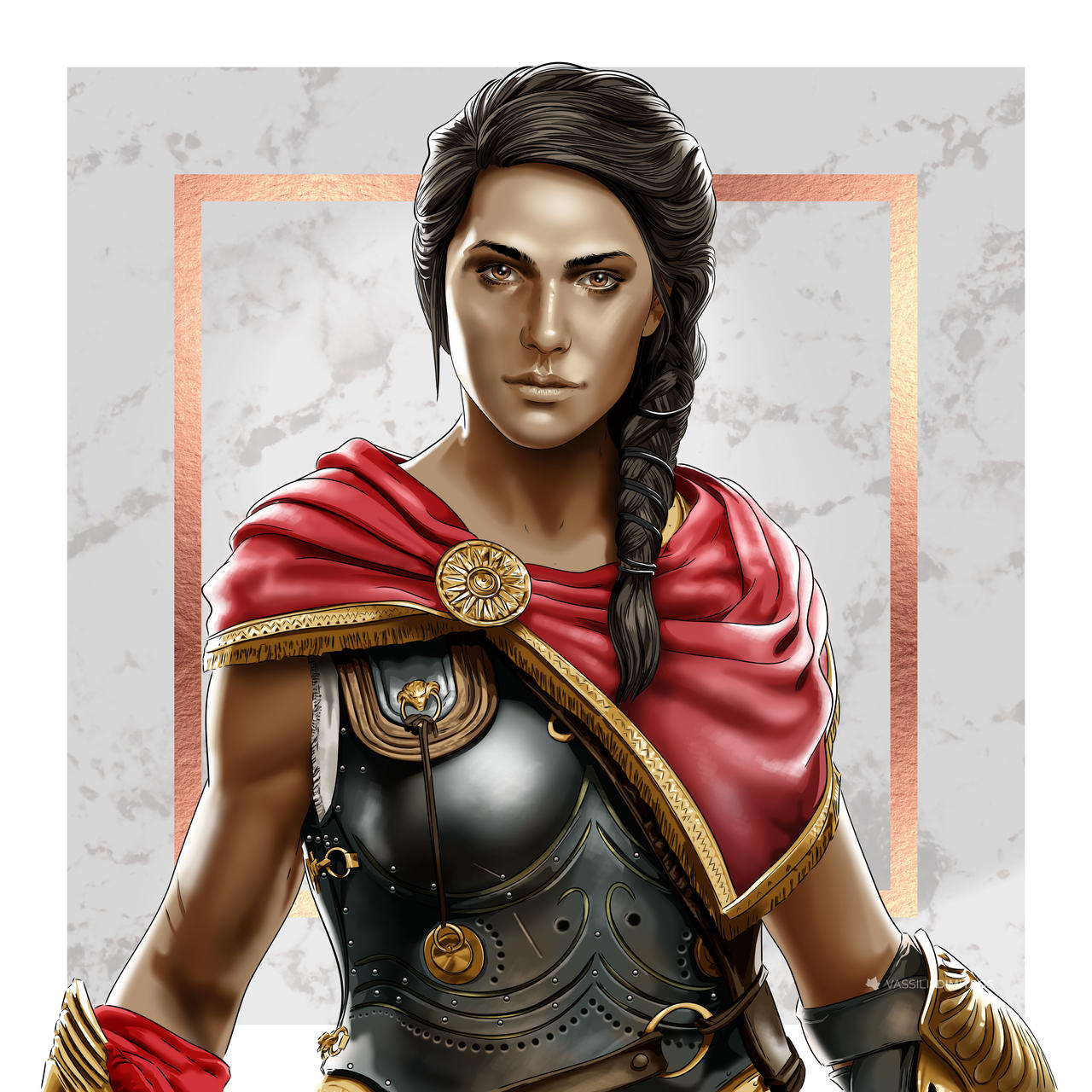 Assassin S Creed Odyssey Kassandra By Dimitrosw On Deviantart