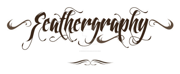 Feathergraphy - font family