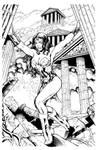 Kevin Sharpe Wonder Woman inks