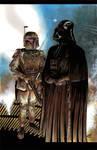 Boba Fett Darth Vader commission