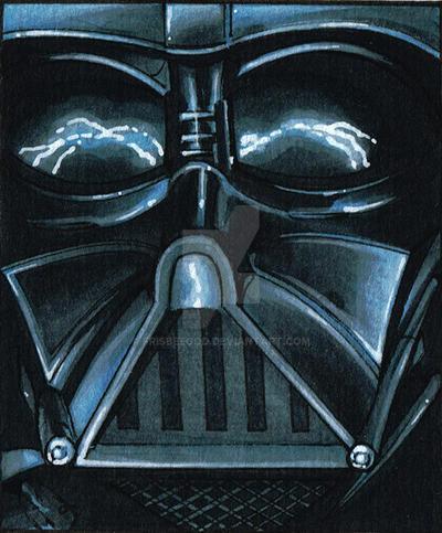 Darth Vader Lightning by Frisbeegod